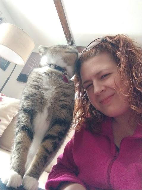 Gina Cat Sitting Oliver